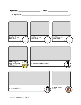 Scientific Method-Based Lab Sheet