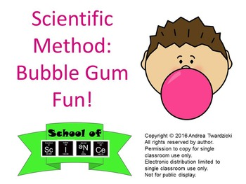 Scientific Method: Bubble Gum Fun!