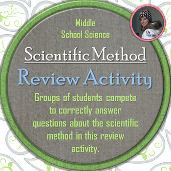 Scientific Method Whole Class Review Activity