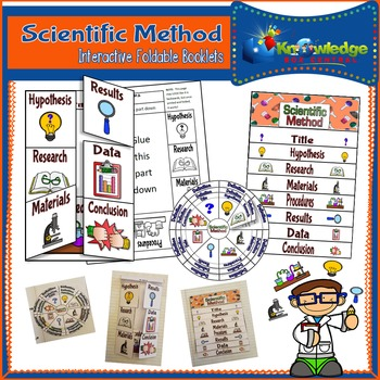 Scientific Method Interactive Foldable Booklets
