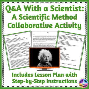 Skype With A Scientist Scientific Method Lesson Plan