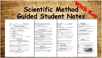 Scientific Method Notes Word Document