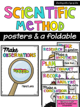 Scientific Method Posters & a foldable