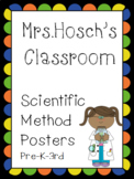 Scientific Method Posters for Pre-k - 3rd Grade