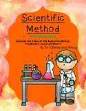 Scientific Method Printable Book with Steps, Vocabulary an