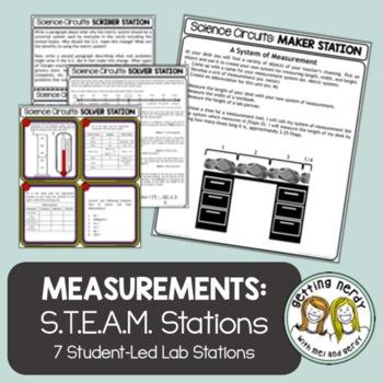 Scientific Method - Science Centers / Lab Stations - Measu
