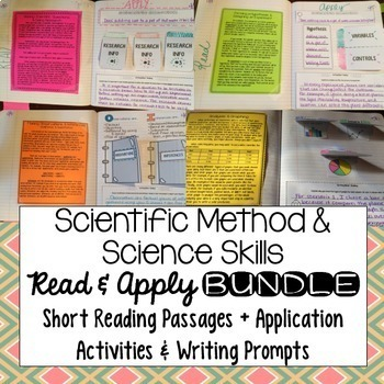 Scientific Method Reading Comprehension Interactive Notebo