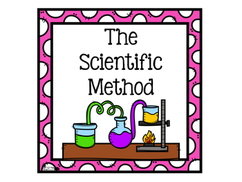 Scientific Method Signs for Pre-K,TK,  Kindergarten, 1st,