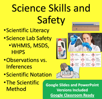 Scientific Method, Skills and Safety PowerPoint Lessons &