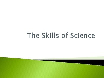 Scientific Method - Skills of Science - Interactive Notebook