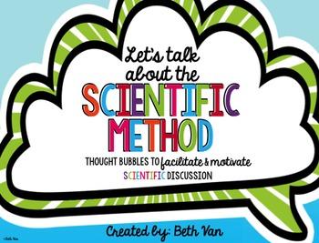 Scientific Method Speech Bubbles {Getting Students Talking