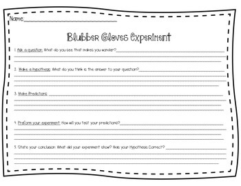 Scientific Method Worksheet