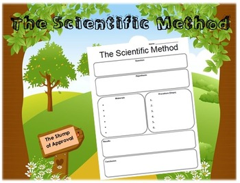 Scientific Method Write-Up Worksheet