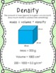 Scientific Method and Buoyant Boats- Capacity, Density and