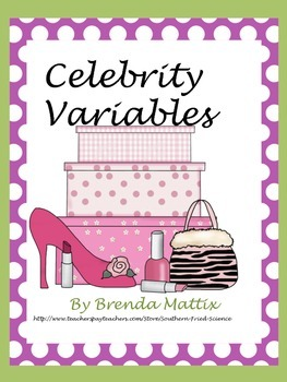 Scientific Method:Celebrity Variables