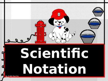 Power-Point:  Scientific Notation