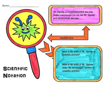 Scientific Notation Bug Project