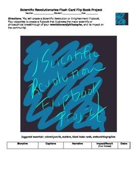 Scientific Revolution - Enlightenment Thinker Flip Book Pr