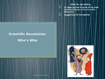 Scientific Revolution & Student Note Packet Power Point