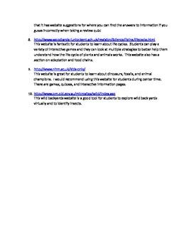 Scientific Websites