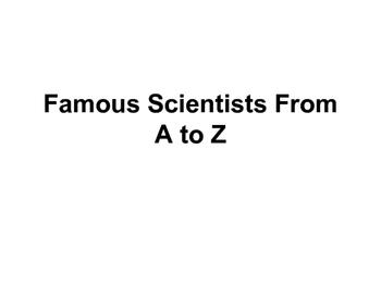 Scientist ABC