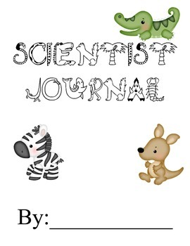 Scientist Journal for Informational Text Note-taking