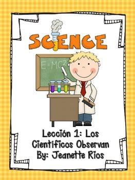 Scientist Observe - Spanish