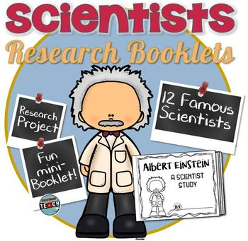 Scientist Research Booklets- 14 Versions