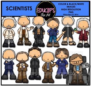 Scientists Clip Art Bundle