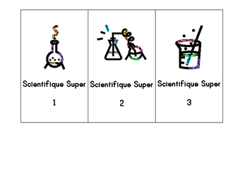 Scientists Super! labels