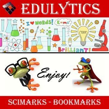 Scimarks for TpT - Bookmarks for Science Teachers (Grades 6-9)