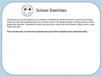 Scissor Cutting Exercises