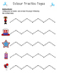 Scissor Practice Pages: 'Murica Pack