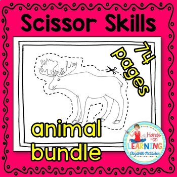 Animal Bundle Scissoring Skills (arctic, farm, insect, oce