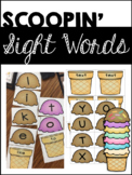Scoopin' Sight Words