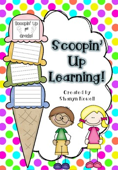 Scoopin' Up Learning {Craftivity} - End of Year Craft