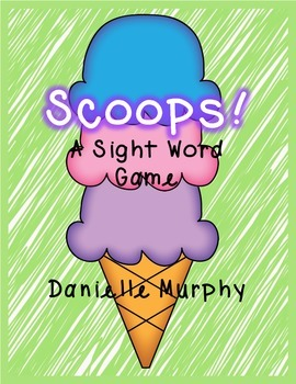 Scoops! Sight Word Game