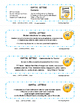 CAPITAL LETTERS SCOOT  TASK CARDS Game   Poster for Rules