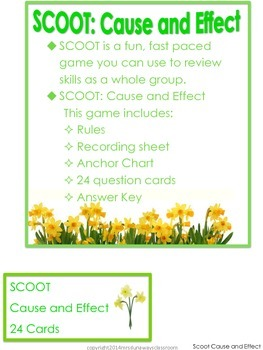 Scoot: Cause and Effect