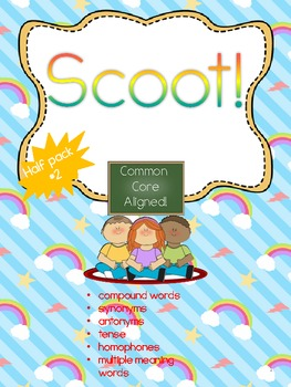 Scoot Common Core- Half Pack #2