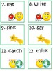 Scoot Game Task Cards for Practice with Basic Irregular Ve
