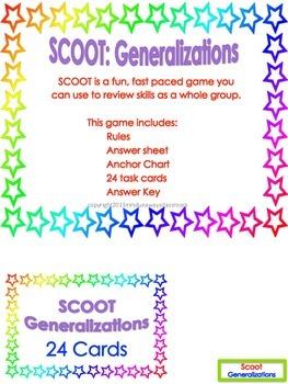 Scoot: Generalizations