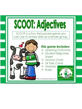 Scoot: Identify the Adjective