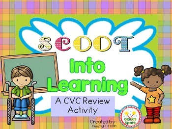 Scoot Into Learning: A Back to School CVC Game