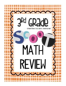 Scoot - Math Review - 3rd Grade