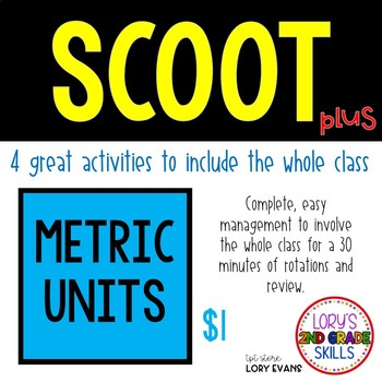 Scoot - Rainbow Scoot & more...Metric Units