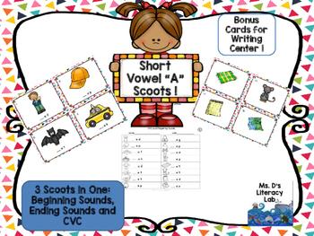 "Short Vowel ""a"" Scoot (CvC)"