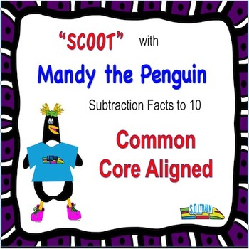 Penguins Subtraction Scoot to 10