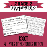 Scoot Types of Sentences