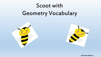 Scoot with Geometry Vocabulary
